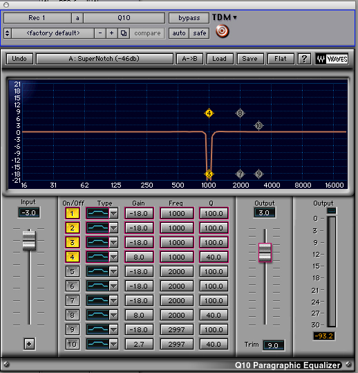Notch EQ Filter