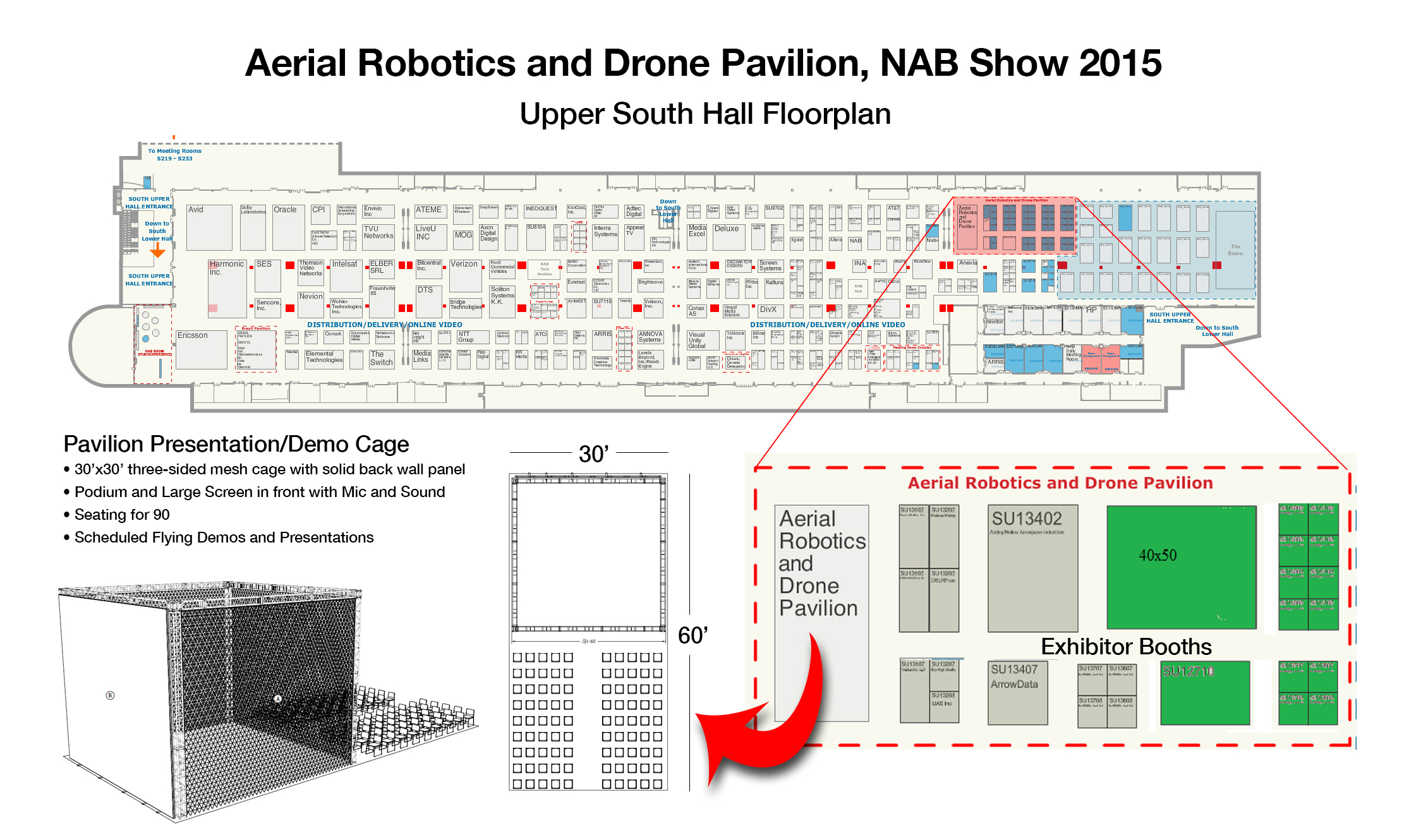 Exclusive Details Around the New Aerial Robotics and Drone Pavilion at NAB Show 10