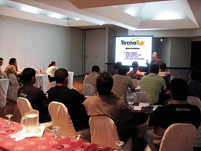 Allan Tépper to give 4 tech seminars in México City 7
