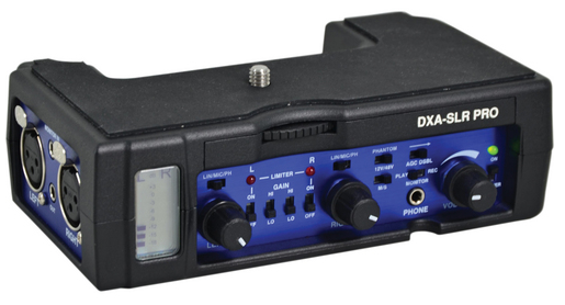 Beachtek DXA-SLR PRO audio interface review part 2: with Blackmagic Pocket Cinema Camera 7