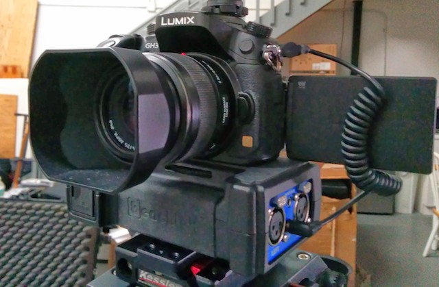 Beachtek DXA-SLR PRO audio interface review part 3: with GH3 10