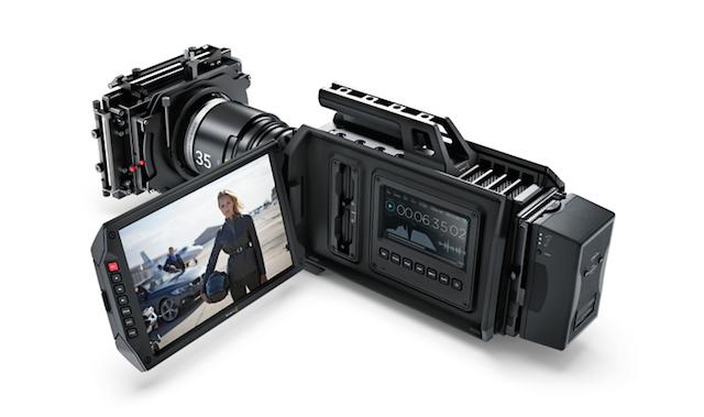 AJA & Blackmagic announce shoulder-mounted 4K cameras 7