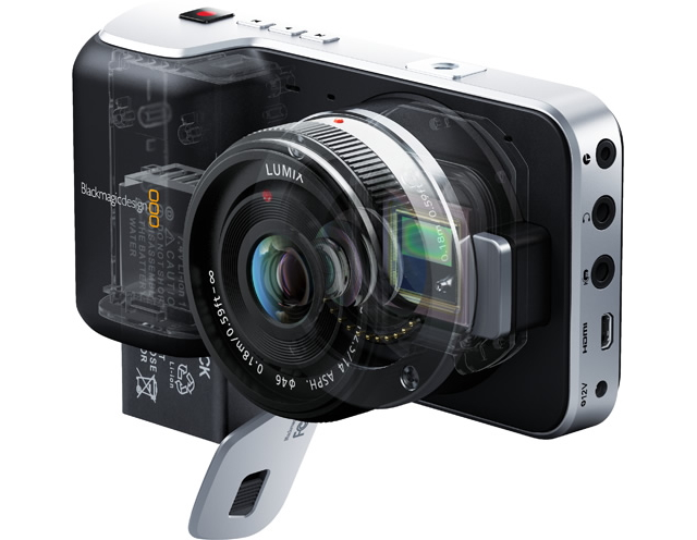 Blackmagic shows pocket RAW camera for US$1K plus 4K camera for US$4k 8