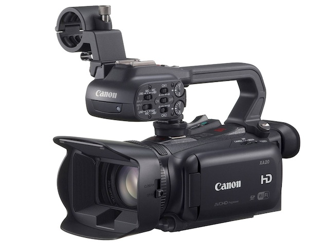 Canon's new XA20 and XA25 cameras fulfill wishes from my Open Letter to pro AVCHD cam manufacturers 6
