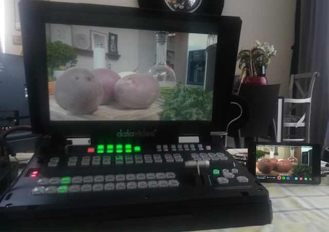 In Guatemala, Shogun reverses 29.97PsF pulldown for 8-camera live-switched show via Datavideo HS2800 18