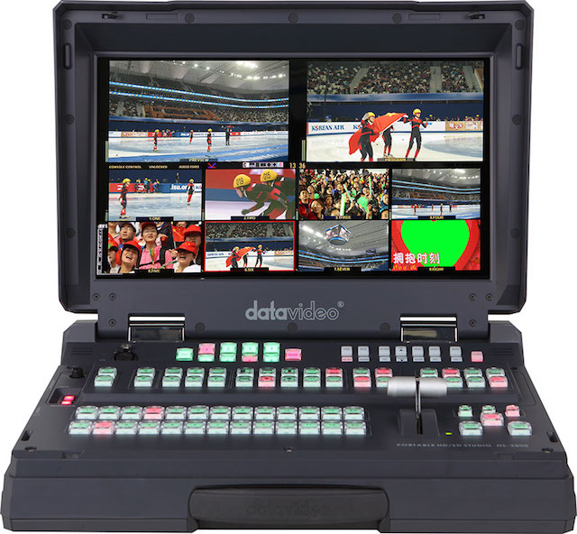 In Guatemala, Shogun reverses 29.97PsF pulldown for 8-camera live-switched show via Datavideo HS2800 21