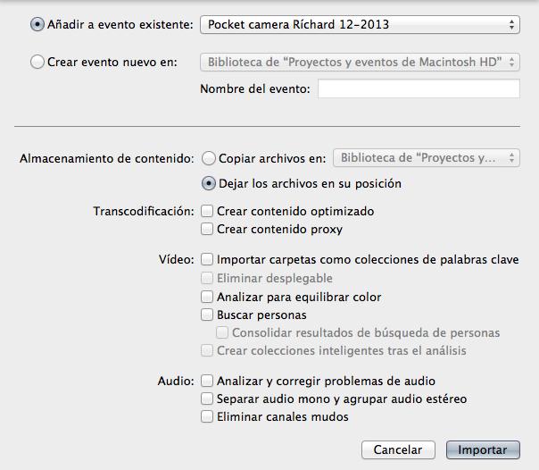 """Final Cut Pro X 10.1 now speaks Castilian (aka """"Spanish"""") 31"""