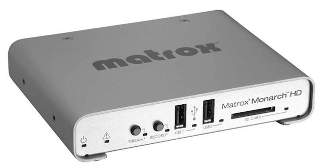 NAB 2013: Matrox shows standalone streamer/recorder appliance 8