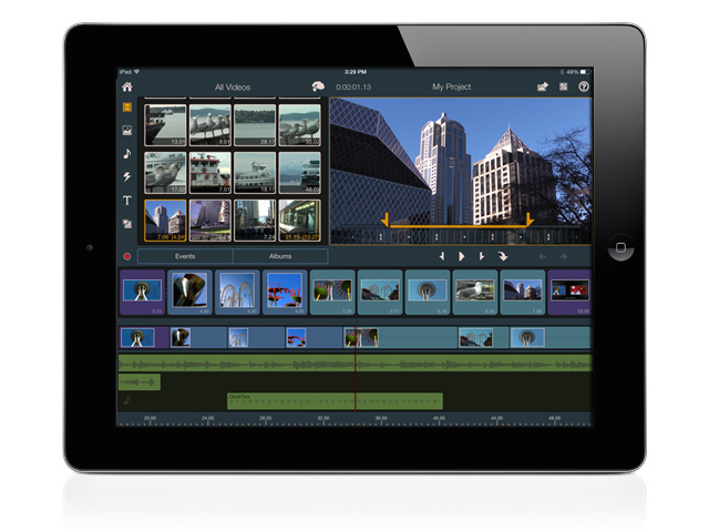 Pinnacle Studio for iPad adds 25p + more improvements 2