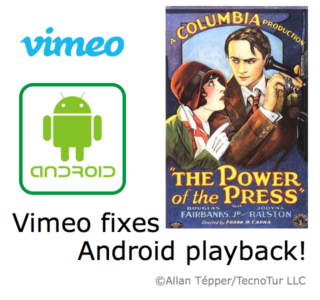 Vimeo fixes Android playback compatibility beyond Vimeo.com 6