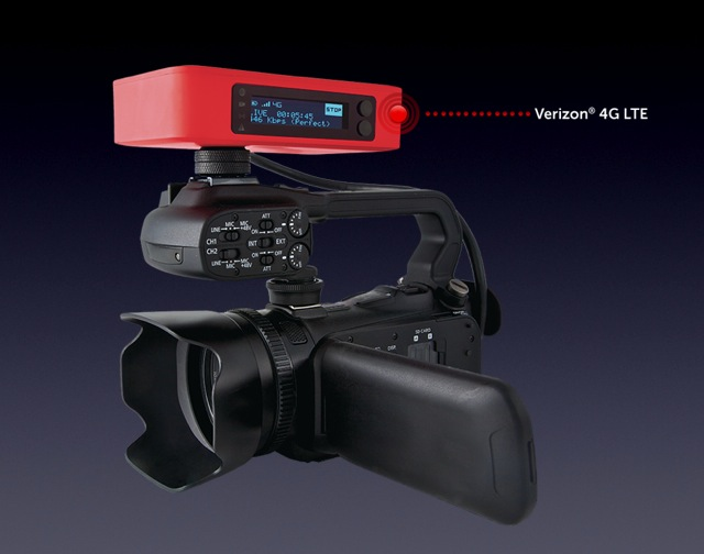 Livestream shows its Broadcaster LTE for Verizon 4