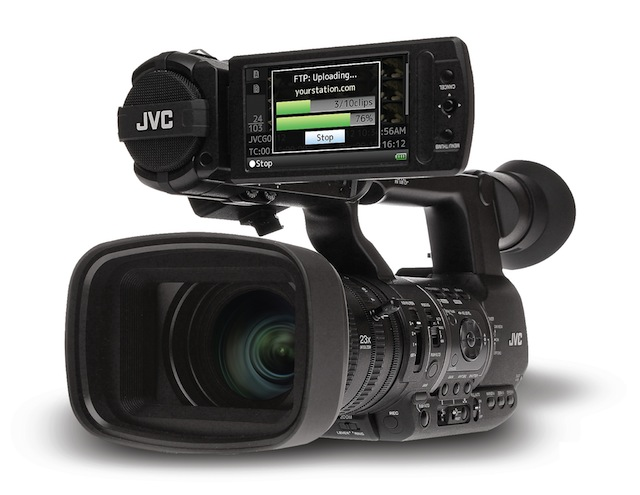 JVC answers questions about GY-HM650 news camera with WiFi + FTP 6