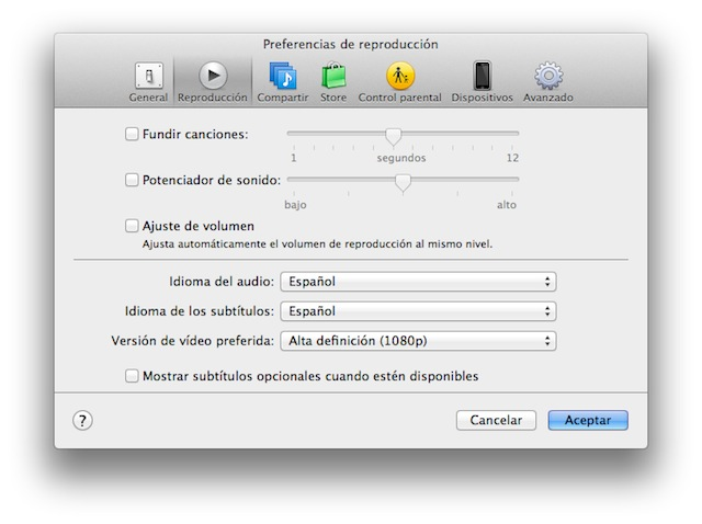 Why did Apple drop Castilian video subtitles and soundtracks in iTunes 11.02? 10