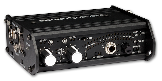 Sound Devices MixPre-D mixer/preamp/A-to-D converter