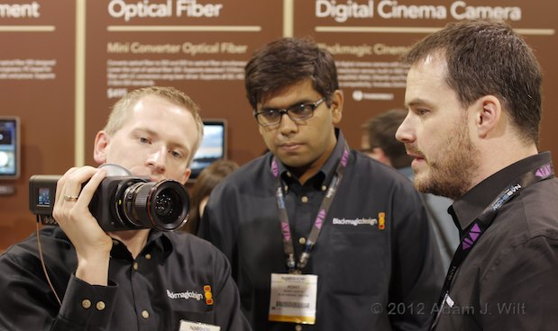 NAB 2012: Is BMD the new RED, Part 2? 28