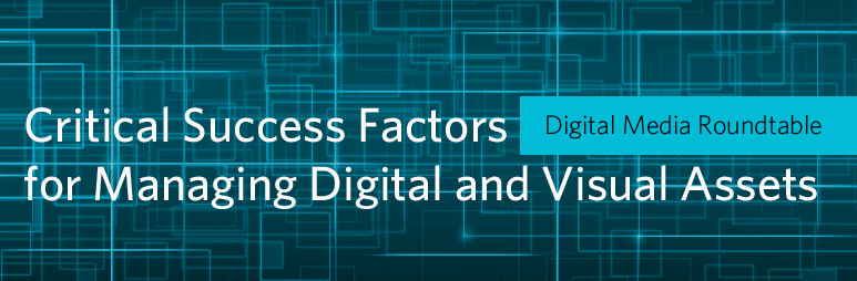 Digital Media Roundtable: Critical Success Factors for Managing Digital and Visual Assets 4