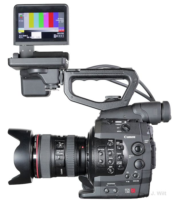 Quick Review: Canon C300 Super35mm LSS Cine Camera 157