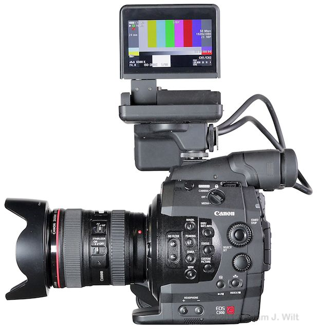 Quick Review: Canon C300 Super35mm LSS Cine Camera 160