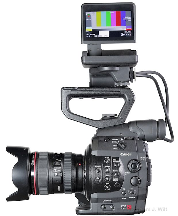 Quick Review: Canon C300 Super35mm LSS Cine Camera 159