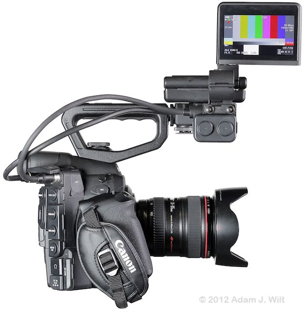 Quick Review: Canon C300 Super35mm LSS Cine Camera 161