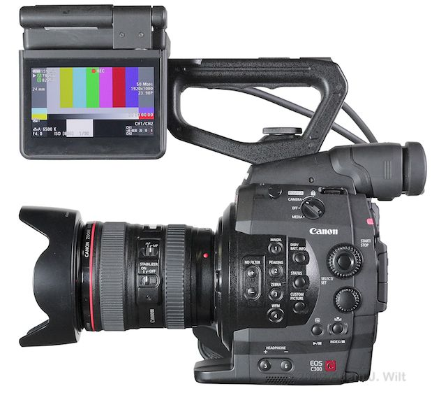 Quick Review: Canon C300 Super35mm LSS Cine Camera 158