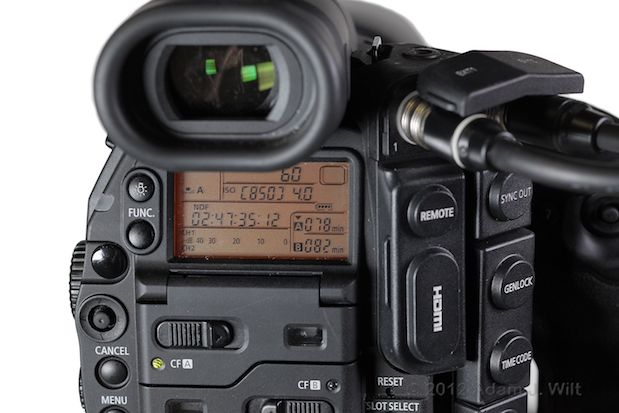 Quick Review: Canon C300 Super35mm LSS Cine Camera 183