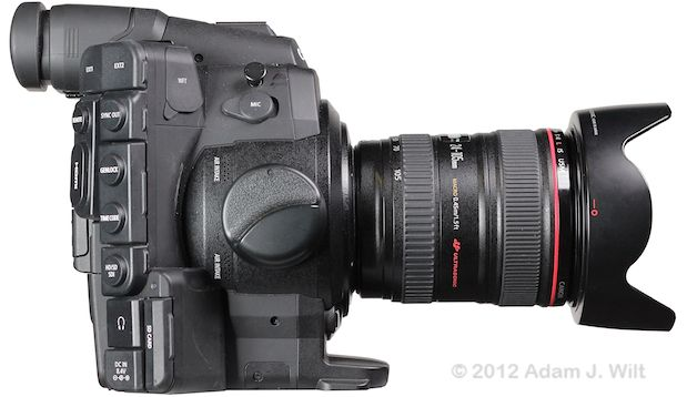 Quick Review: Canon C300 Super35mm LSS Cine Camera 163