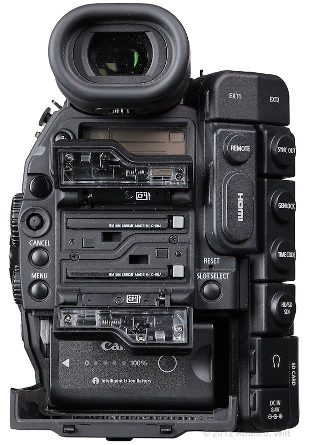 Quick Review: Canon C300 Super35mm LSS Cine Camera 171