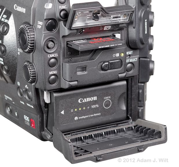 Quick Review: Canon C300 Super35mm LSS Cine Camera 166