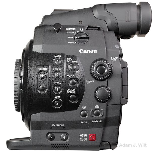 Quick Review: Canon C300 Super35mm LSS Cine Camera 169