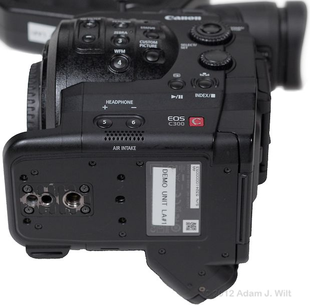 Quick Review: Canon C300 Super35mm LSS Cine Camera 175