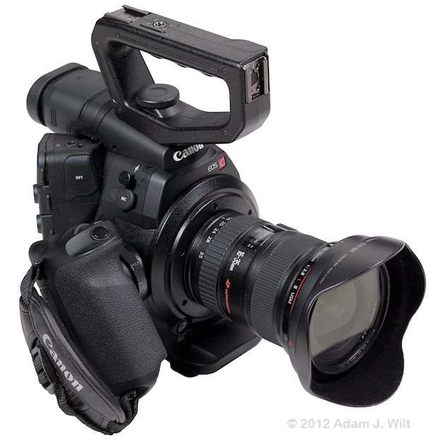 Quick Review: Canon C300 Super35mm LSS Cine Camera 167