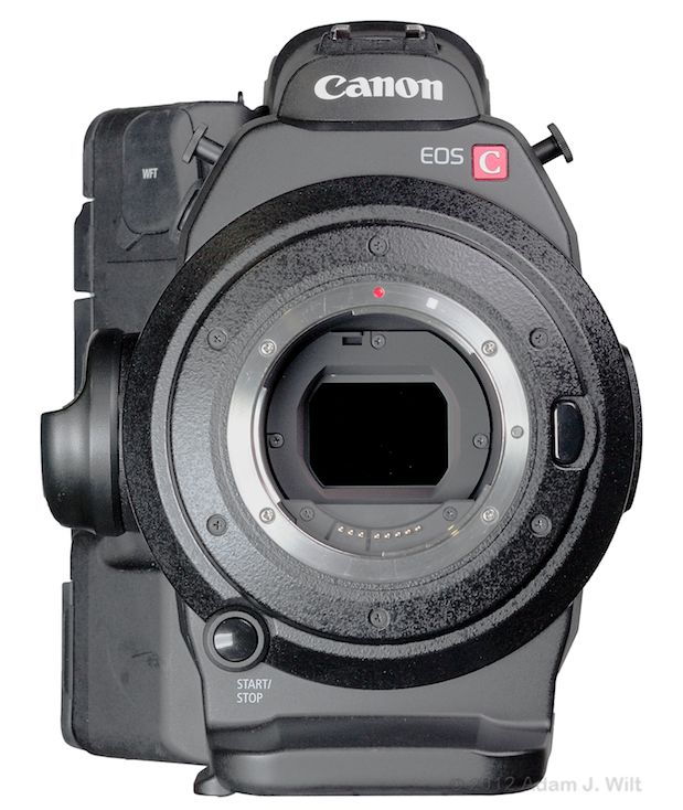 Quick Review: Canon C300 Super35mm LSS Cine Camera 176