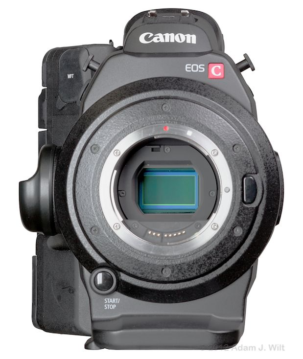 Quick Review: Canon C300 Super35mm LSS Cine Camera 177