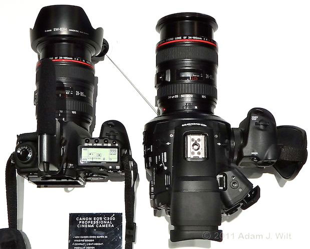 Quick Look: Canon EOS C300 LSS 1080p Camcorder 137