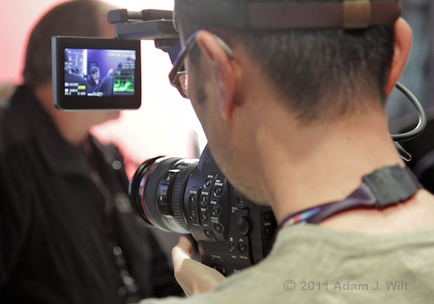 Quick Look: Canon EOS C300 LSS 1080p Camcorder 131