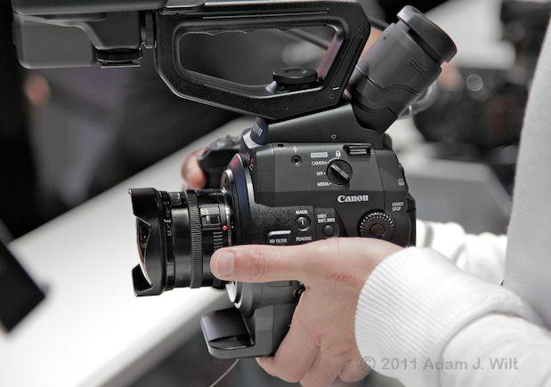 Quick Look: Canon EOS C300 LSS 1080p Camcorder 147