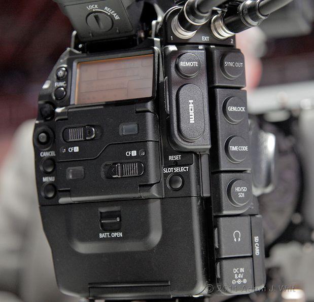 Quick Look: Canon EOS C300 LSS 1080p Camcorder 118