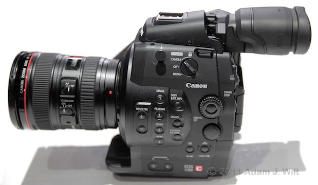 Quick Look: Canon EOS C300 LSS 1080p Camcorder 106