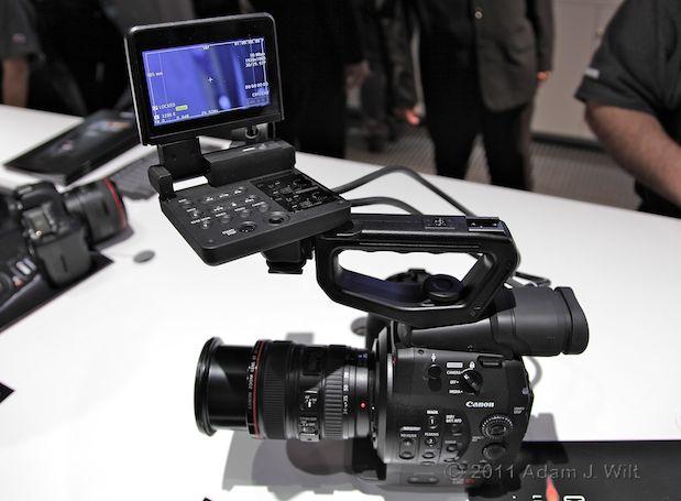 Quick Look: Canon EOS C300 LSS 1080p Camcorder 125