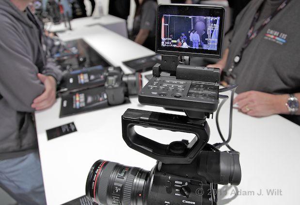 Quick Look: Canon EOS C300 LSS 1080p Camcorder 126