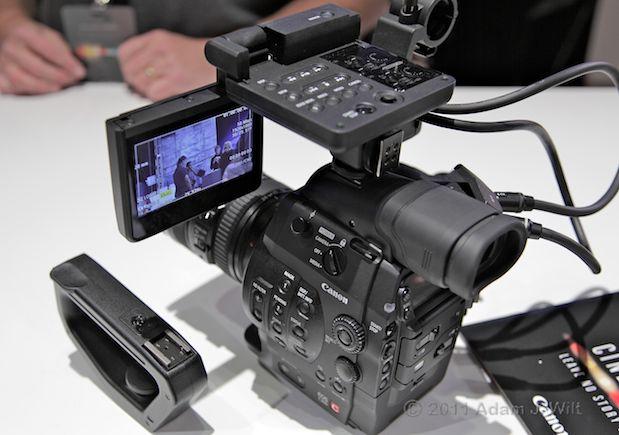 Quick Look: Canon EOS C300 LSS 1080p Camcorder 127