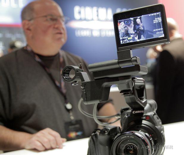Quick Look: Canon EOS C300 LSS 1080p Camcorder 128