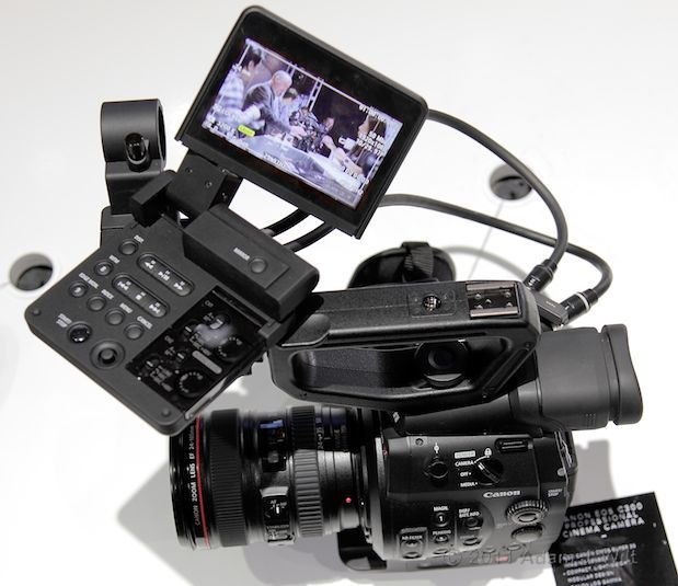 Quick Look: Canon EOS C300 LSS 1080p Camcorder 129