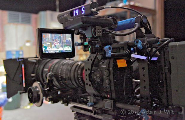 Quick Look: Canon EOS C300 LSS 1080p Camcorder 135
