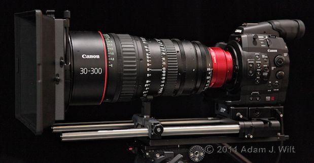 Quick Look: Canon EOS C300 LSS 1080p Camcorder 145
