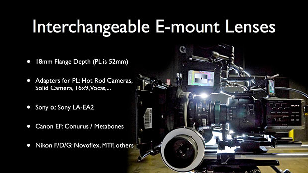 High Speed and Low Light with the NEX-FS700 60