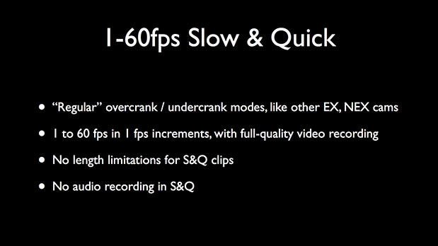 High Speed and Low Light with the NEX-FS700 62