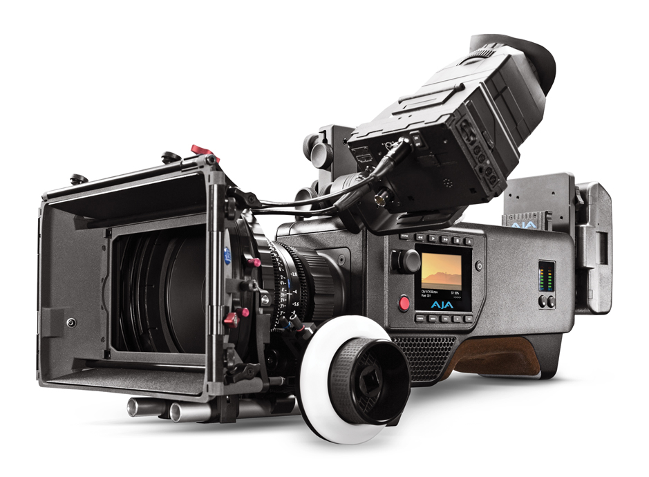 AJA CION 4K/UltraHD/2K/HD Production Camera Now Shipping 3