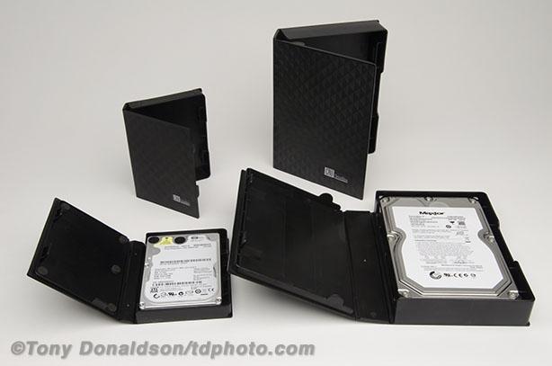 CRU-Dataport Drive Box anti-static safe archive store hard drive